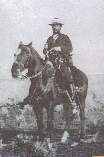 Aparicio Saravia a caballo