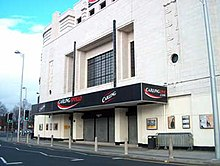 Facade of Manchester Apollo, 2007