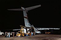Apollo 11 Mobile Quarantine Facility unloaded from C-141.jpg