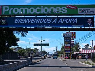 Apopa - Image: Apopa Entrance 2012