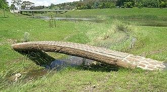 Apsley River (New South Wales) - Image: Apsley River bridge