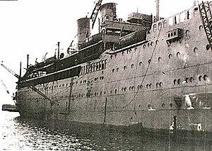 SS Arandora Star - Image: Arandora Star 1940