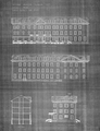Architectural drawings, produced by John M. Moore and Co., of the 1905 Nurses' Home.png