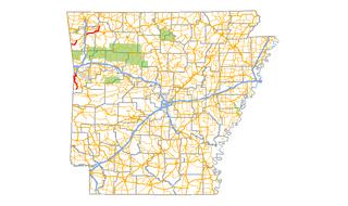 Arkansas Highway 45 highway in Arkansas