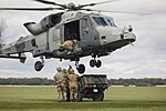 Army Air Corps Reserves train with Wildcat helicopters MOD 45164391.jpg