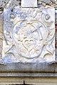 Arnoldstein Klosterruine Steinrelief ueber Portal 01082012 824.jpg