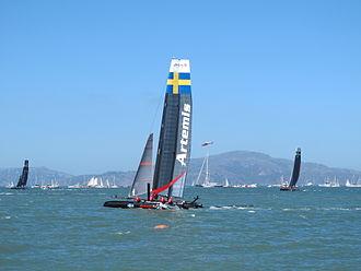 Artemis Racing - Image: Artemis Racing boat