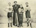 Arthur Linton, Choppy Warburton, Jimmy Michael, Tom Linton - Welsh cyclists.png