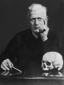 Arthur Schuller with skull.png