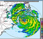 Arthur radar at landfall.jpg