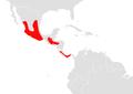 Artibeus aztecus map.png
