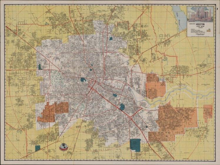 Ashburn%27s Houston City Map
