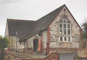 Ashbury, Oxfordshire - Former parish school, today a Village Hall