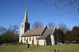 Ashby de la Launde - Image: Ashby Church