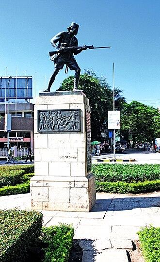 Askari Monument - Image: Askari monument dar es salaam