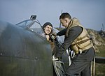 At a Royal Air Force Fighter Station in Britain, November 1942 TR517.jpg
