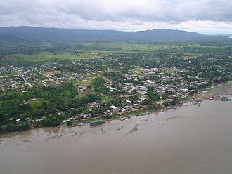 Atalaya, Ucayali - Aerial view of Atalaya