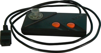 Atari 7800 - The gamepad of the Atari 7800
