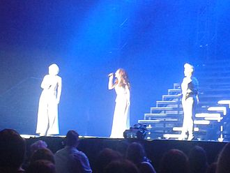 Atomic Kitten - Atomic Kitten performing live in Glasgow on 7 May 2013 as part of The Big Reunion arena tour.