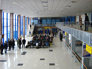 Atyrau Airport - Check-in hall