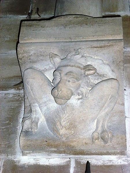 Aubenton (Aisne) Église Notre-Dame, chapiteau A