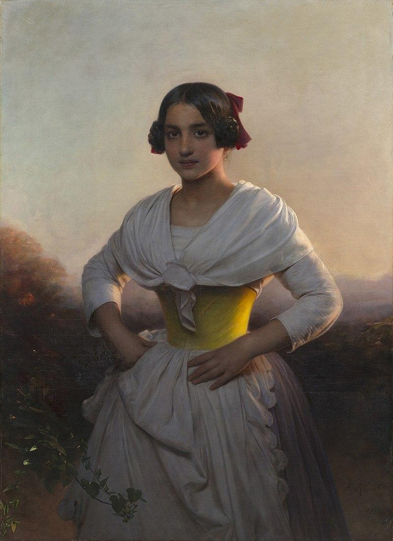 August Heinrich Riedel (1799-1883) - Marianna Verettoni - RCIN 403885 - Royal Collection.jpg