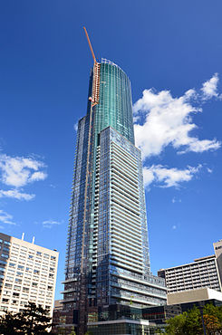 Aura Toronto under construction July 2014.jpg
