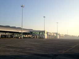 Aurangabad Airport Air side view..JPG