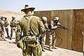 Australian soldier observing Iraqi soldiers training in July 2018.jpg