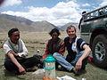 Australian volunteer Tim Heath at the Tibet Agricultural Research Institute, 2011. Photo- Tim Heath - AusAID (10675953195).jpg