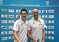 Austrian Olympic Team 2012 a Robert Gardos, Daniel Habesohn.jpg