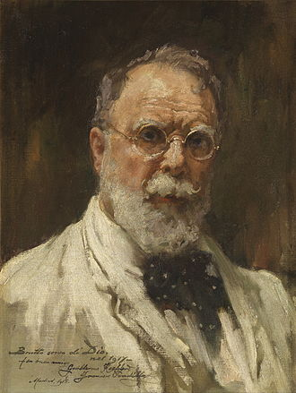 Francisco Pradilla Ortiz - Self-portrait of Pradilla Ortiz