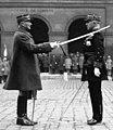 Aux Invalides - le Général Weygand faisant le Général Dufieux grand croix de la Légion d'honneur (cropped).jpg