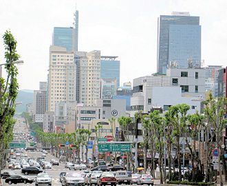 Gangnam Style - The district of Gangnam in Seoul