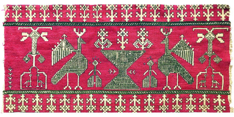 Azemmour embroidery, Morocco, 18th century