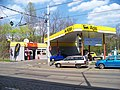 Bělehradská, čerpací stanice Agip.jpg