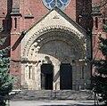 Błażowa kościół wejście 20.04.09 p.jpg