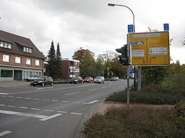 De B403 in Bad Bentheim