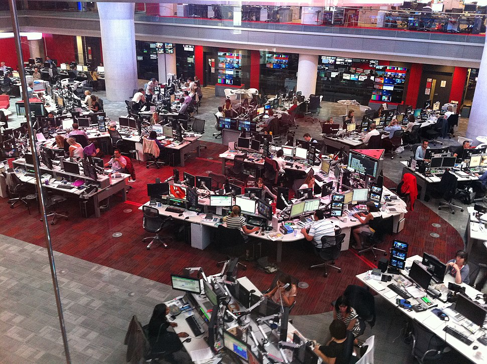 BBC News Room August 2013