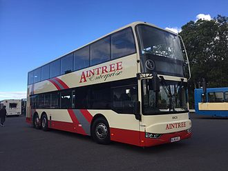 BCI Bus - A BCI Enterprise operated by Aintree Coach Lines in the United Kingdom, on display at Showbus 2016