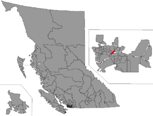 New Westminster (provincial electoral district) - Image: BC 2015 New Westminster