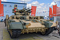 BMPT tank support combat vehicle at Engineering Technologies 2012.jpg