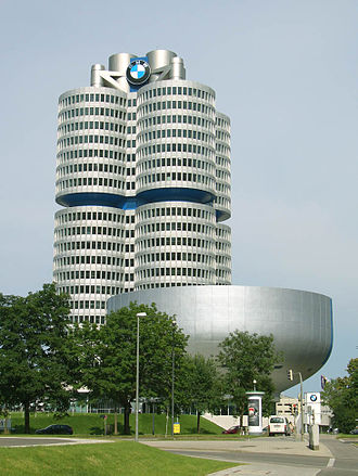 BMW Headquarters - Image: BMW HQ