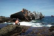 RPS Datu Kalantiaw aground 3