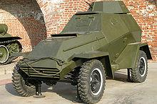 A BA-64B preserved at Nizhniy Novgorod Kremlin, Russia
