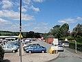Back entrance to Wharf Road car-park - geograph.org.uk - 2015361.jpg