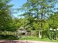 Bad Sassendorf – Teich im Kurpark - Pyramide - panoramio.jpg