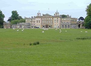 Badminton House.