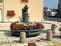 Baillet-en-France (95), fontaine, place de la Fontaine, rue Jean-Nicolas 02.jpg