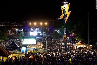 Balelec Festival annual music festival in Lausanne, Switzerland